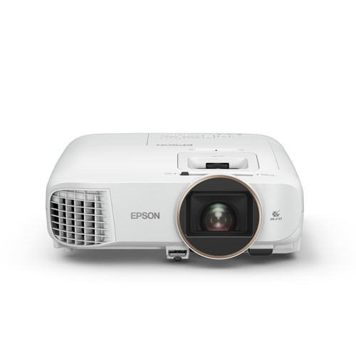 Epson Home Theatre TW5650 Wireless 2D/3D Full HD 1080p 3LCD Projector - White