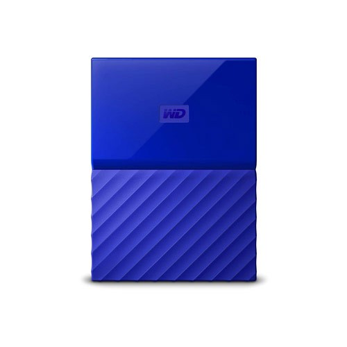WD My Passport Portable Hard Disk 2TB  - Blue