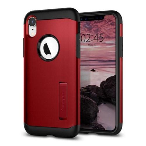 Spigen Case Slim Armor for iPhone XR - Merlot Red
