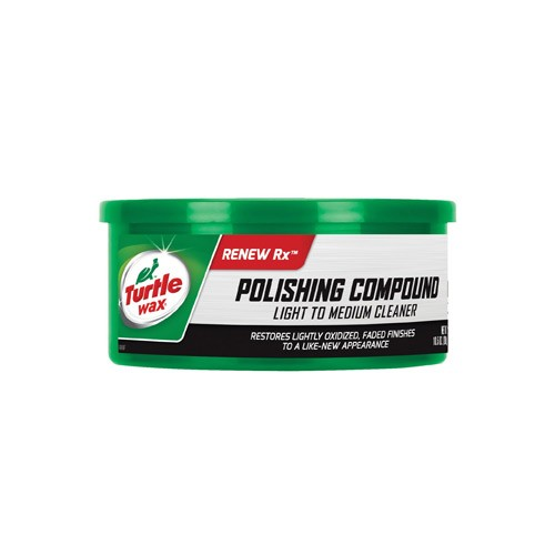 Turtle Wax Polishing Compound Light to Medium Cleaner (Paste) T-241A 298g