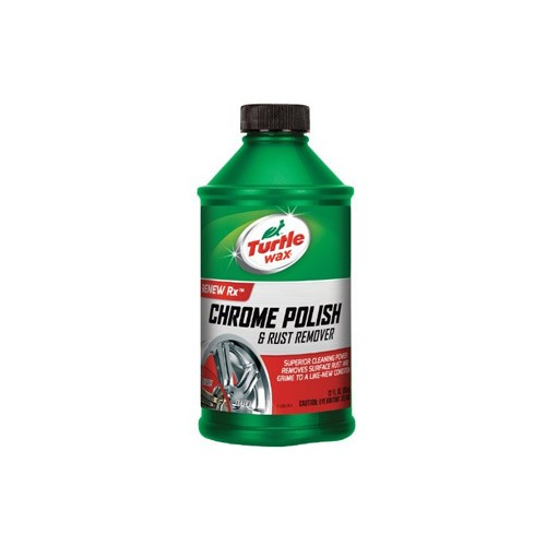 Turtle Wax Chrome Polish (Liquid) T-280RA 355ml