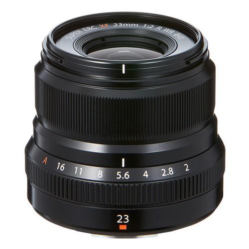 Fujifilm Fujinon Lens XF 23MM F2 R WR - Black