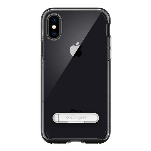 Spigen Crystal Hybrid for iPhone X  - Black