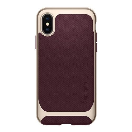 Spigen Neo Hybrid for iPhone X - Burgundy