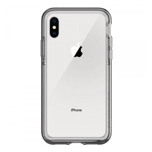 Spigen Case Neo Hybrid EX Chrome for iPhone X - Gray