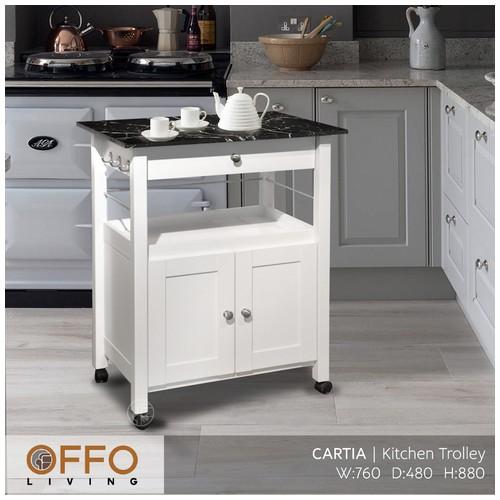 Offo Living - Rak Dorong Cartia Kitchen Trolley