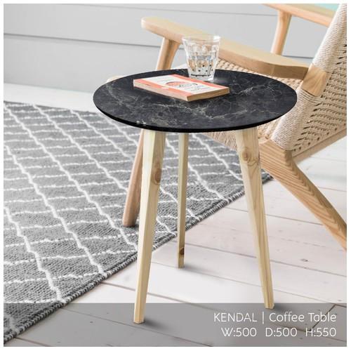 Offo Living - Meja Tamu Coffee Table Kendall Hitam