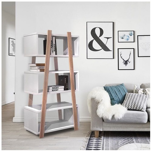Offo Living - Rak Serba Guna Aiden Book Cabinet
