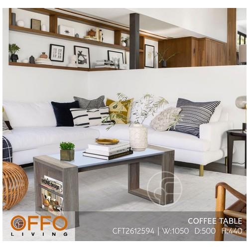 Offo Living - Meja Tamu / Coffee Table Putih