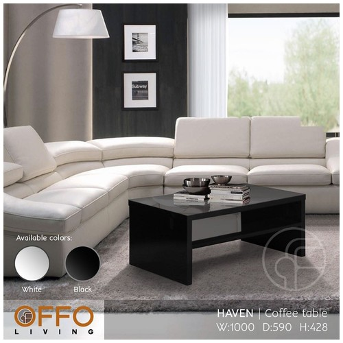 Offo Living - Haven Coffee Table Hitam