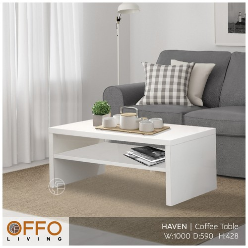 Offo Living - Haven Coffee Table Putih