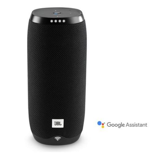 JBL Link 20 Voice-activated Portable Speaker - Black