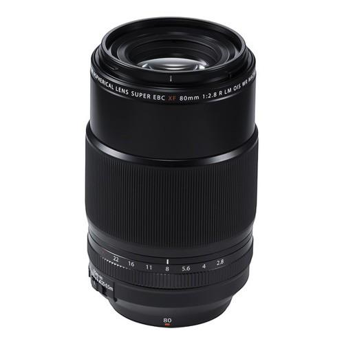 Fujifilm Fujinon Lens XF 80 MM F2.4 R MACRO - Black