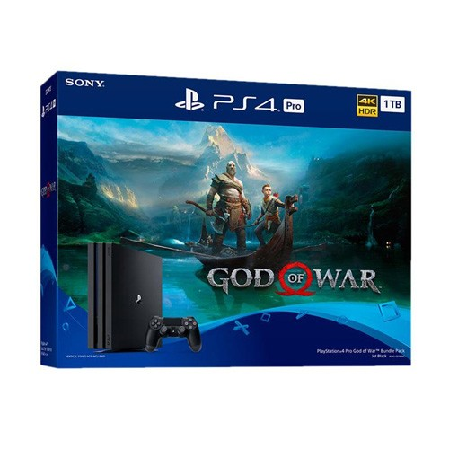 Sony PlayStation 4 Pro 1TB Bundle Game GOD of WAR