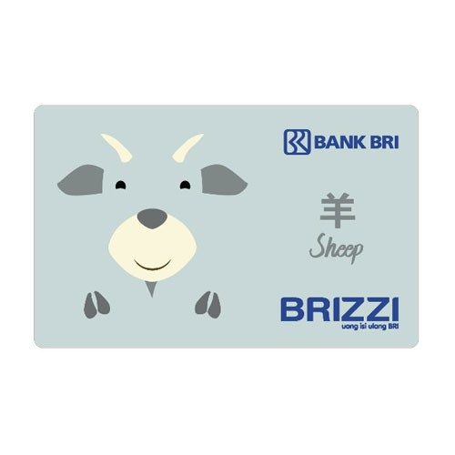 Brizzi BRI Zodiac Card Finished Artwork - Sheep