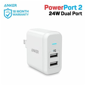 Anker 24W PowerPort2 for US