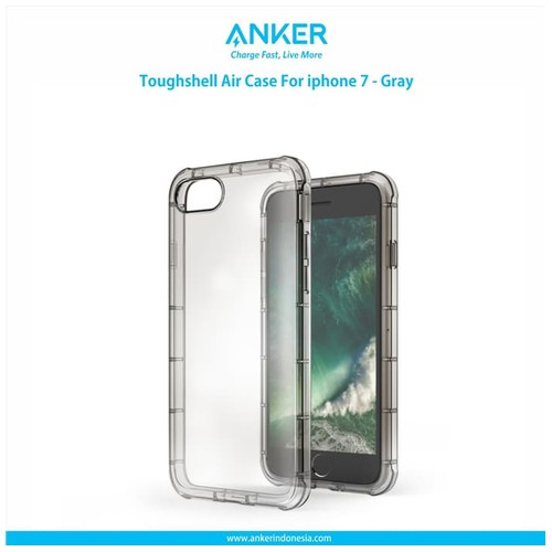 Anker Toughshell Air Case for iPhone 7 - Gray [A70550A1]