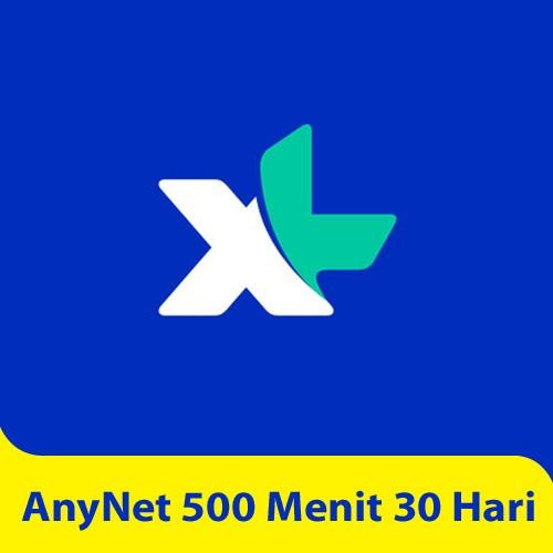 XL AnyNet 500 Menit 30 Hari