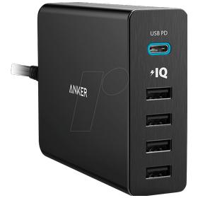 Anker PowerPort+ 5 USB C wi