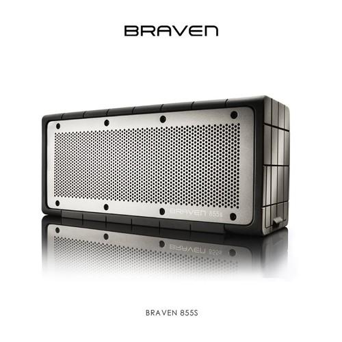 BRAVEN 855S Wireless Speaker with 8800mA Batt - Black
