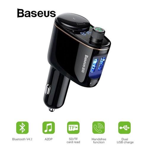 Baseus CALL-RH01 Locomotive 3.4A Car Charger with Dual USB Port