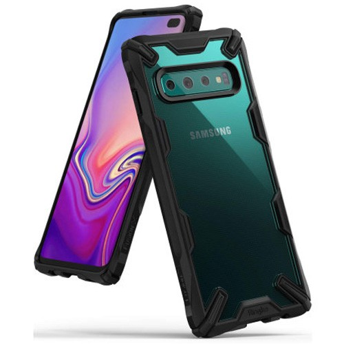 Rearth Ringke Samsung Galaxy S10+ Case Fusion X - Black