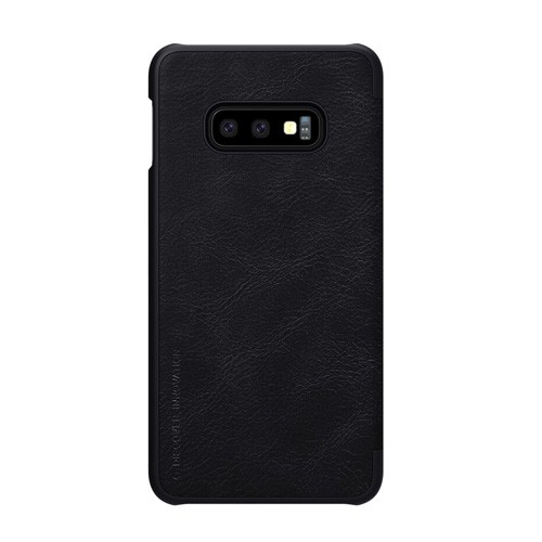 Nillkin Qin Leathercase for Samsung Galaxy S10e - Black