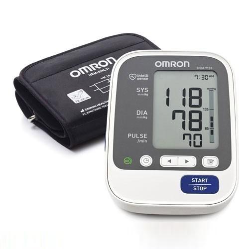 Omron Deluxe Upper Arm Blood Pressure Monitor HEM-7130