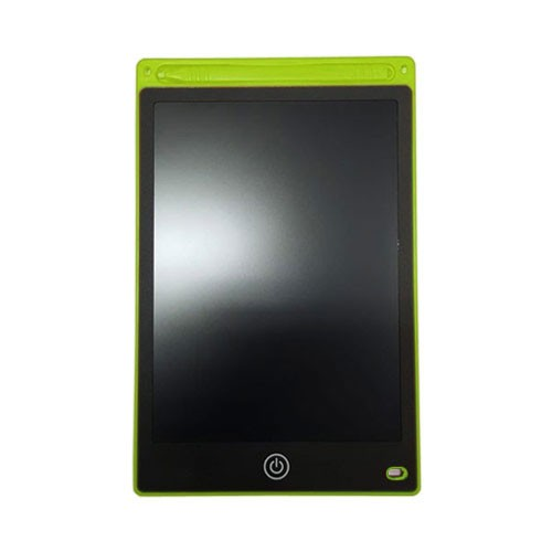 Digital LCD Tablet 8.5 Inch Drawing and Handwriting Pads Magic Eraser with Stylus Pen for Kids and Bussines (With Lock) - Green