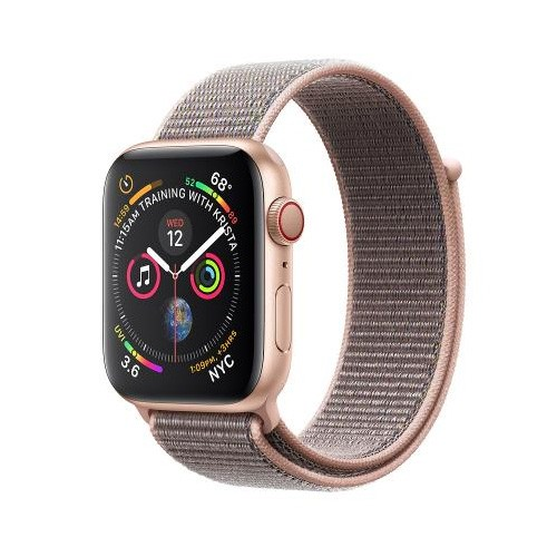 Apple Watch Series 4 GPS Only 40mm Gold Aluminium Case With Pink Sand Sport Band - MU692ID/A