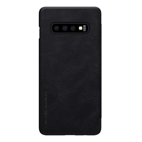 Nillkin Qin Leathercase for Samsung Galaxy S10 - Black