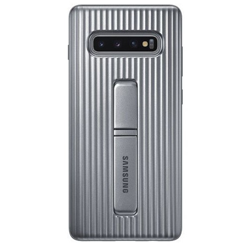 Samsung Protective Standing Cover Case Galaxy S10+ Silver