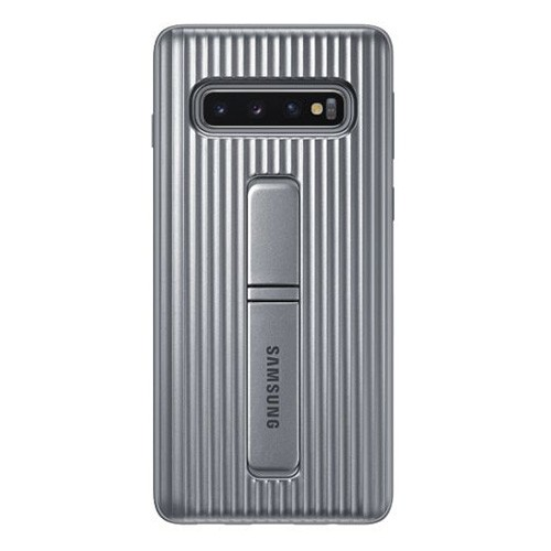 Samsung Protective Standing Cover Case Galaxy S10 - Silver