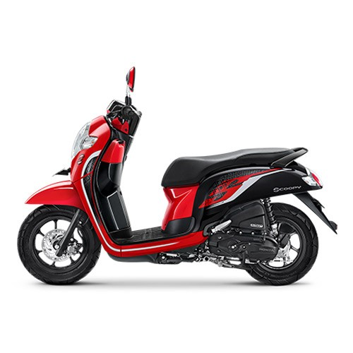 Honda Scoopy Sporty Red