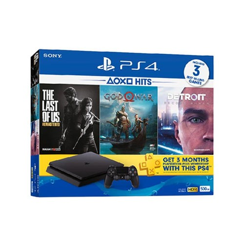 Sony Playstation 4 Slim Bundle Hits 1TB