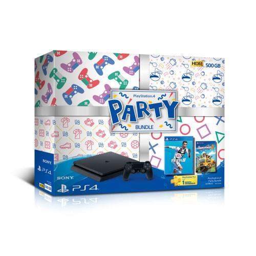 Sony Playstation 4 Slim 500GB Bundle Party