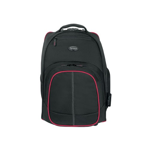 Targus Compact Rolling Backpack TSB75001AP-72 - Red