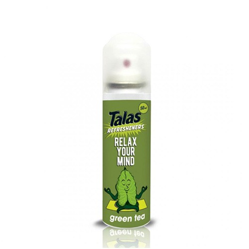 Talas Refresheners Aerosol 50ml - Green Tea