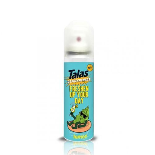 Talas Refresheners Aerosol 50ml - Lemon