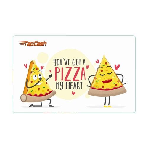 BNI TapCash Edisi Valentine - Pizza
