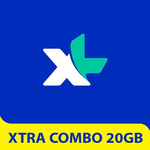 XL Paket Internet XTRA Combo 20GB