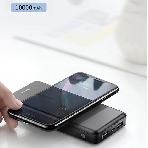 Baseus 2-in-1 Multi Wireless Charger & Power Bank 10.000 mAh PPALL-M36 - Black
