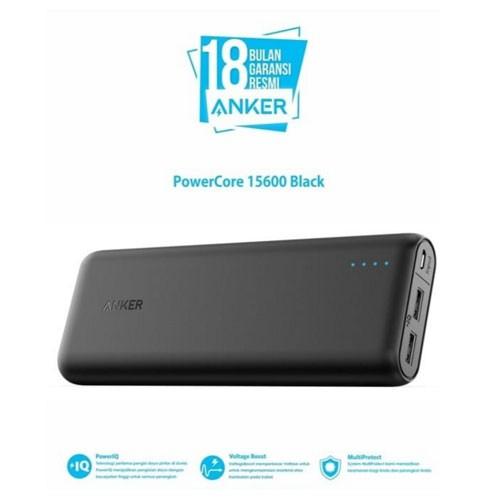Anker PowerCore 15.600 mAh Black A1252G11