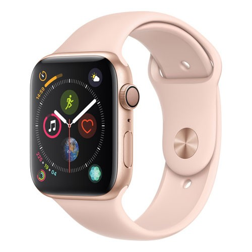 Apple Watch Series 4 GPS Only 44mm Gold Aluminium Case With Pink Sand Sport Band - MU6F2ID/A