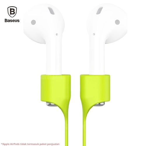 Baseus Magnetic Clasp Earphone Strap for AirPods ACGS-A06 - Green