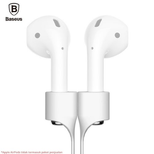Baseus Magnetic Clasp Earphone Strap for AirPods ACGS-A06 - White
