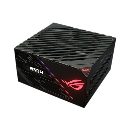 Asus ROG Thor 850 80+ Platinum 850W Fully Modular RGB Power Supply with Livedash OLED Panel