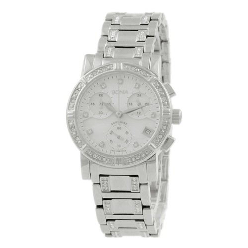 Bonia - B10046-2357S - Jam Tangan Wanita - Silver