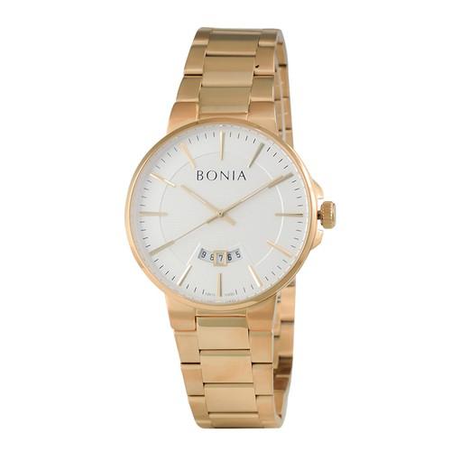 Bonia - B10250-1212 - Jam Tangan Pria - Gold