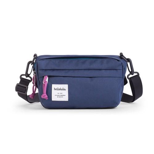 Hellolulu Hollis Mini All-Day Bag - Navy Blue